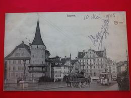 LUZERN TRAMWAY ATTELAGE - LU Luzern
