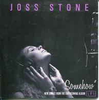 Joss Stone - CD Single Promo - Somehow - Edizioni Limitate