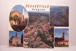 DECAZEVILLE    - MULTIVUES     -  ( Pas De Reflet Sur L'original ) - Decazeville