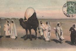 TOZEUR. - Un Basour Sur La Route De Tozeur - Tunisie