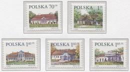 Poland 1999 Polish Small Manor Houses Cottage Village, Buildings  MNH** - 1944-.... République