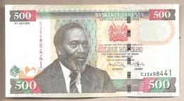 Kenya -  Banconota Circolata Da 500 Scellini P-50e - 2010 #18 - Kenia
