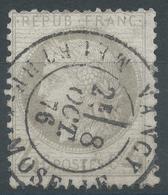 Lot N°51680  N°52, Oblit Cachet à Date De Nancy, Meurthe Et Moselle (52) - 1871-1875 Ceres