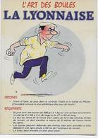 """CPA - Sports - Pétanque- LÁrt Des Boules - La Lyonnaise -""""Editions  866 Lyna- Paris """" - Bocce"""