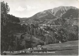 Y4744 Abetone (Pistoia) - Il Monte Libro Aperto Visto Da Pianaccio - Panorama / Viaggiata 1958 - Altre Città