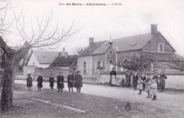18 - Cher -  En Berry -  CHAVANNES - L école - France