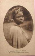 (2382) Ruanda- Urundi - Jeune Fille Muhutu De L'Urundi -  1928 - Ruanda-Urundi