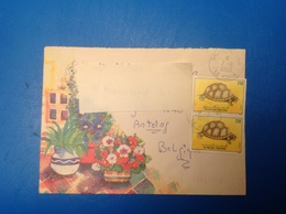 LetDoc. 46.  Lettre Provenant DeLe Kram, Tunisie Vers LaBelgique, 1996. - Tunesien (1956-...)