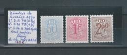 Timbres Service Papier Blanc N° S51P2 / S56P2  / S56AP2  NEUF** - Dienstpost
