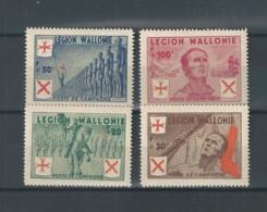 Timbres Légion Wallonie N°E26/29 Neuf** - Erinnofilia