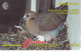TARJETA DE ANGUILLA DE UNA PALOMA (BIRD-PAJARO) 14CAGB - Pájaros