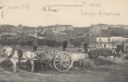 LANCON DE PROVENCE Les Coussous Du Chateau De Calissanne Attelages Rare - France
