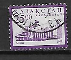 Kazakhstan 1998 Astana - New Capital Of Kazakhstan  Used - Kazakhstan