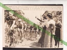 Origineel Tour De France, 1965, Montpellier/Mont Ventoux, A Nimes, Gianni Motta,Grain,Gnedermans - Cyclisme