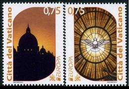 VATICANO 2012 - EUROPA - VISITE EL VATICANO - 2 SELLOS - Europa-CEPT