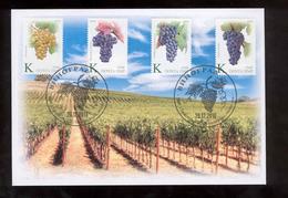 Transnistria 2019 Grape Winemaking  FDC Official - Moldova
