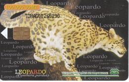 TARJETA DE MOZAMBIQUE DE UN LEOPARDO (LEOPARD) - Unclassified