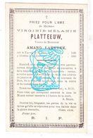 DP Virginie Melanie Platteeuw ° Ieper 1820 † 1900 X Amand LaHeyne - Images Religieuses