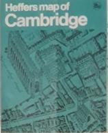 HEFFERS MAP OF CAMBRIDGE. - Europa