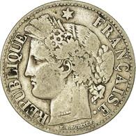 Monnaie, France, Cérès, 2 Francs, 1873, Paris, TB, Argent, Gadoury:530a - France