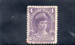 TERRE-NUEVE 1897-1901 * PAPIER AU VERSO - Newfoundland