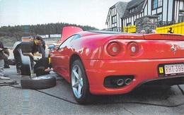 Auto Voiture FRANCORCHAMPS Mai 1999 La Mécanique De L'autruche ( Ferrari  Pub Proximus ) *PRIX FIXE - Cartes Postales