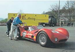 Auto Voiture FRANCORCHAMPS Mai 1999 Une Petite Poussée (voiture De Sport  ) *PRIX FIXE - Cartes Postales
