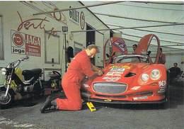 Auto Voiture FRANCORCHAMPS Mai 1999 Contrôle D'une Vertigo GILLET (voiture De Sport  Pub JAGA SLOGGY ) *PRIX FIXE - Cartes Postales