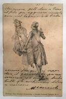 346 Illustrazione Anno 1901 - Künstlerkarten