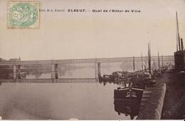 76 - ELBEUF - QUAI DE L'HÔTEL DE VILLE - Elbeuf