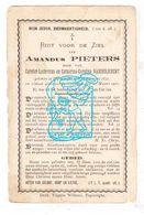 DP Amandus Pieters / VanderJeught ° Poperinge 1837 † 1910 - Images Religieuses
