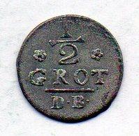 GERMAN STATES - BREMEN, 1/2 Groten, Billon, 1789, KM #217 - Monedas Pequeñas & Otras Subdivisiones
