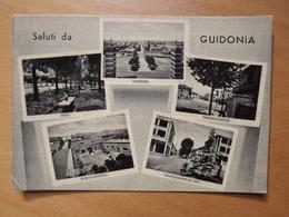 Q1049 CARTOLINA  - SALUTI Da GUIDONIA  ROMA    VIAGGIATA  - VEDUTINE - Guidonia Montecelio