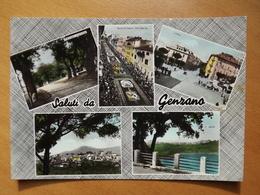 Q1050 CARTOLINA  - SALUTI Da GENZANO   ROMA    VIAGGIATA  - VEDUTINE - Guidonia Montecelio