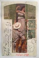 348 Illustrazione Anno 1901 - Künstlerkarten