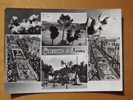 Q1051 CARTOLINA  - SALUTI Da GENZANO   ROMA    VIAGGIATA  - VEDUTINE - Guidonia Montecelio