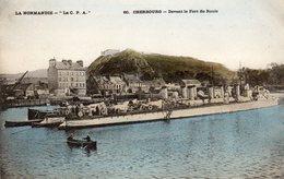 CHERBOURG - Devant Le Fort Du Roule - Cherbourg