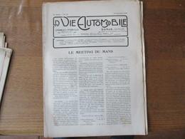 LA VIE AUTOMOBILE DU 10 SEPTEMBRE 1920 LE MEETING DU MANS, LA 18 Hp. RENAULT,LE CONCOURS DE BICYCLETTES A MOTEUR - Auto
