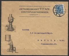 Dänemark - Brief  21.04.1914 / Kopenhagen Nach Berlin N 39 ( Deutschland ) / Siehe Fotos - 1913-47 (Christian X)