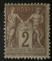 France - YT 85 * - 1876-1878 Sage (Type I)