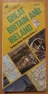 AA TOURIST MAP OF GREAT BRITAIN AND IRELAND - LIGRA BREAK.. - Europa