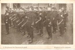 2° Regiment De Chasseurs à Pied : Répétition Des Clairons - Regimenten