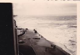 PHOTO ORIGINALE 39 / 45 WW2 WEHRMACHT BELGIQUE OSTENDE AOUT 1940 DEPART A  BORD DU BATEAU ALLEMAND - War, Military
