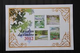 France 2012 - BF132** - Salon Du Timbre 2012 - Jardins De France - Mint/Hinged
