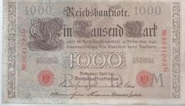 AK-23494 - 1000   Reichsmark  - 864 1095 G V  21 April 1910 - [ 2] 1871-1918 : German Empire