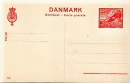 Postal History Cover: Denmark Mint Postal Stationery Card Nr 155, 25 öre - Postal Stationery