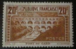 France - YT 262 IIB (*) - Pont Du Gard - France
