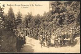 Bouillon S/ Semois Pensionnat De Sainte Chrétienne En Récréation Nels éditeur Thill Bruxelles - Bouillon