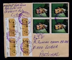 Stamp's Day 4x CUBA Famous People LEONARDO DA VINCI  Séc.XV Old Cyclisme 8y Transports Bikes  Gc4572 - Célébrités