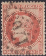 France   .     Yvert    .    31       .      O      .       Oblitéré   .   /   .   Cancelled - 1863-1870 Napoleon III With Laurels